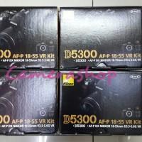 NIKON D5300 KIT 18-55 VR II+MEMORY SD 8GB+TAS KAMERA NIKON