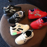 sepatu anak nyala import murah