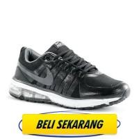 Sepatu running sport casual Nike Flywire Air Max Black M.K