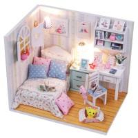 Jual Pajangan Rumah Rumahan DIY Ruang Shabby Chic Lampu LED & Akrilik AR. Murah