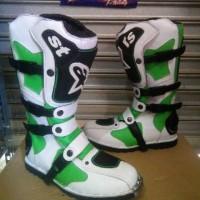 harga sepatu cross alpinestars putihhijau Tokopedia.com