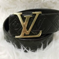 Ikat Pinggang Premium Belt Louis Vuiton Logo Gold And Silver