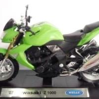 Diecast Welly Sepeda Motor Kawasaki Z 1000
