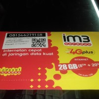 paket prdna kuota M3 4G plus 28GB INTERNET indosat ooredoo JABODETABEK