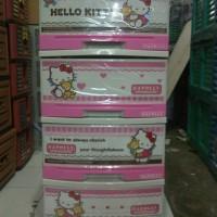 harga Lemari Plastik Napolly Hello Kitty S-4 Tokopedia.com