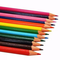 Set Pensil Warna Kayu (12 Warna)