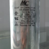 Kapasitor AC merk MC 30 uF/micro (untuk AC 1 PK)