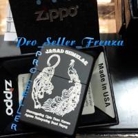 Zippo SuperPremium Custom Logooo! Gratis Req Nama!!
