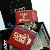 Zippo SuperPremium Custom ClashofClans! Gratis Req Nama!!!