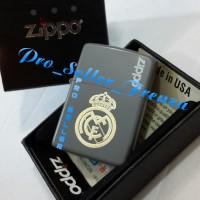 Zippo SuperPremium Custom Real Madrid! Gratis Request Nama!!