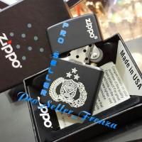 Zippo Super Premium Custom Logo POLRI, Gratis Request Nama !!