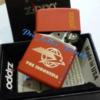 Zippo Super Premium Custom Logo Pos Indonesia! Gratis Req Nama!!
