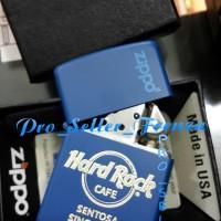 Zippo Super Premium Custom Logo HardRock Singapore! Gratis Req Nama!!