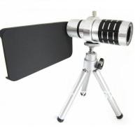 Harga lens kit 12x zoom magnifier micro telephoto lens for iphone 5 5s se   Hargalu.com