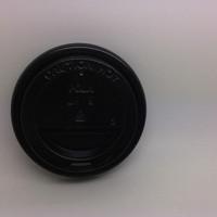 Hot Lid Paper Cup 8 Oz Black