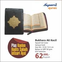 Al-Quran Tajwid Bukhara ukuran A6, Alquran Syaamil saku resleting