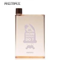 harga Botol Minum Unik Memo A5 - Remax - 420ml Tokopedia.com