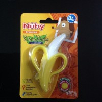 Nuby Banana Toothbrush Teether Nananubs Massager