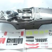 CJ10-20 RC Car Caster Racing BODY (GRAY)