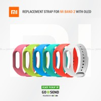 harga Xiaomi Original Replacement Strap For Mi Band 2 Oled - Full Color Tokopedia.com