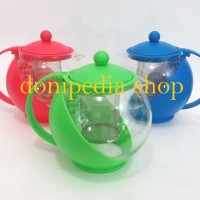 Harga teko saringan teh kopi 1250 ml aurora ceret cerek tea pot | antitipu.com