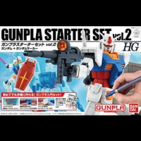 1/144 HG Gunpla Starter Set vol. 2