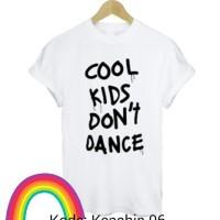kaos / tshirt / baju 1D / one direction cool kids dont dance