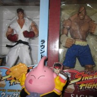 "Sota Street Fighter 10"" Figure - Ryu & Sagat (Rare)"