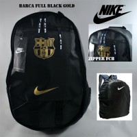harga Tas Ransel Nike Barcelona Black Gold Tokopedia.com