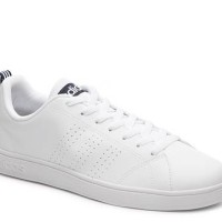 Adidas NEO ADVANTAGE CLEAN white black stripe Original 100%
