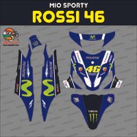 Sticker striping motor stiker YAMAHA MIO Sporty - Rossi 2016 46 Spec B