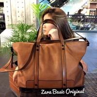 Jual Tas wanita branded handbag cewek murah import, Zara basic original Murah