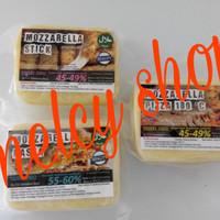 keju mozarella mulur murah halal untuk pizza, pasta dan stick