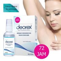 DEOREX 60ml / Penghilang Bau Ketiak / Penghilang Bau kaki
