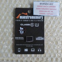Jual MAESTROMEMORY MICRO SD 8GB CLASS 10 Murah