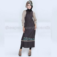 Baju Muslim Wanita 2016 Model Terbaru/Gamis Abaya Katun KEREN