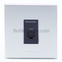 Outlet Data Cat6 Panasonic Style Silver