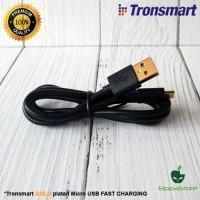 Jual PREMIUM GOLD Plated Cable Data/Kabel Charger Micro USB 1M Tronsmart Murah