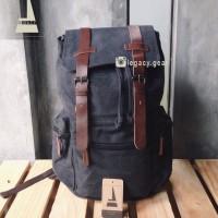 Jual Vintage Titan / Tas Ransel Kanvas / Backpack Murah