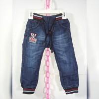 Celana Jogger Jeans / Celana Bordir Anak Usia 1-4 Tahun