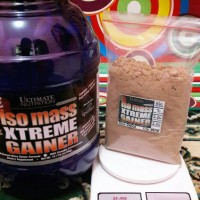 ISO MASS ISOMASS XTREME GAINER 2LBS ECER ULTIMATE NUTRITION