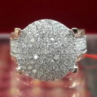 PROMO Cincin BERLIAN EROPA 0,94 Carat Natural Diamond Ring Emas 40%