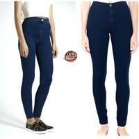 Jual highwaist navy | celana high waist | celana hw Murah