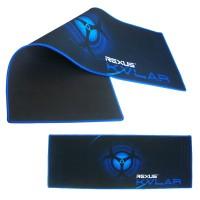 Rexus Mouse Pad Gaming KVLAR T1 Lebar 80 x 30 x 0,3cm Hitam/Biru