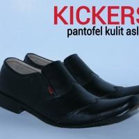 harga Sepatu Kickers Pantofel Kulit Asli Tokopedia.com