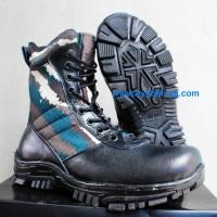Sepatu Loreng TNI - AL - Sepatu Boot Pria - PDL - A-013 D