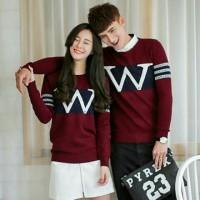 Couple WWW Maroon / Grosir Baju Couple / Couple Murah