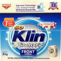 So Klin Bio-matic Front load Soklin untuk mesin cuci buka Depan 2kg