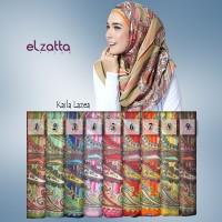 Jual ELZATTA Hijab Kerudung Jilbab Segi Empat Kaila Lazea Asli Terbaru Murah