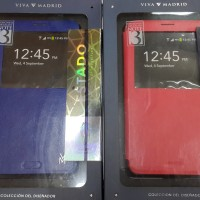 Samsung Not3 Viva Madrid Estado Diary Case